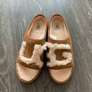 Ugg open toe slippers